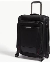 Samsonite - Black Pro Dlx 5 Top Pocket Spinner Suitcase - Lyst