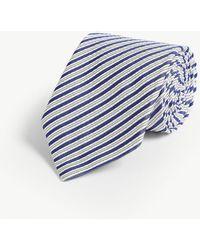 Eton of Sweden - Striped Print Wool - Lyst