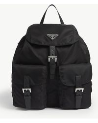 Prada Nylon Small Backpack - Black