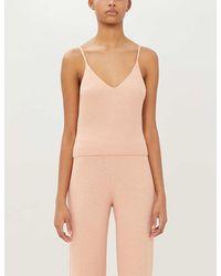 Skin Deidre Stretch-knit Pajama Top - Multicolor