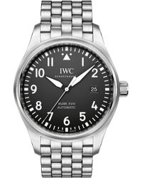 Iwc - Pilot's Mark Xviii Stainless Steel Watch - Lyst