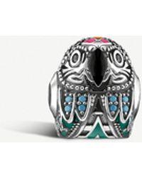 Thomas Sabo Parrot Sterling Silver Karma Bead - Metallic