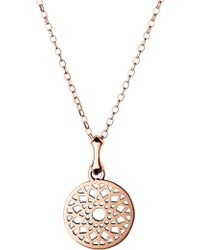 Links of London | Timeless 18ct Rose-gold Vermeil Necklace | Lyst