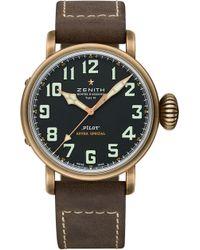 Zenith - 29.2430.679/21.c753 Type 20 Bronze Pilot's Watch - Lyst