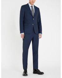 Oscar Jacobson Elmer Regular-fit Wool Suit - Blue