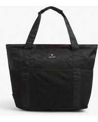 Snow Peak Top-handle Medium Nylon Tote Bag - Black