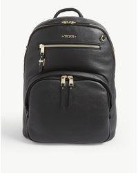 Tumi Hartford Leather Backpack - Black