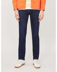 J Brand Kane Straight Jeans - Blue