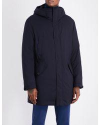 Slowear - Montedoro Quilted Wool-blend Coat - Lyst