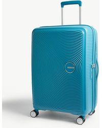 American Tourister Soundbox Expandable Four-wheel Suitcase 67cm - Multicolour