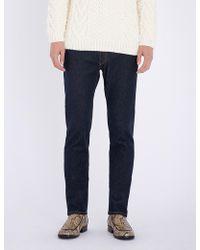 Brioni - Slim-fit Straight Stretch-denim Jeans - Lyst