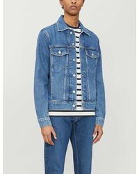 Sandro Regular-fit Denim Jacket - Blue