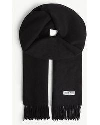 Claudie Pierlot - Alaska Solid Virgin Wool Scarf - Lyst 728c48a5c84f4