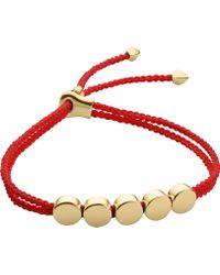 Monica Vinader - Linear 18ct Yellow-gold Vermeil Bracelet - Lyst