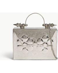 OKHTEIN - Palmette Minaudiere Box Clutch Bag - Lyst
