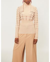 Jacquemus - Cutout Knitted Jumper - Lyst