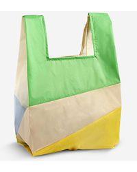 Hay Six Colour No. 3 Nylon Bag - Green