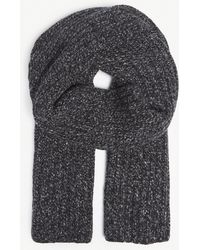 Johnstons - Donegal Cashmere Rib-knit Scarf - Lyst