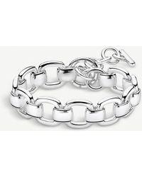Thomas Sabo Heritage Sterling Silver Curb Chain Bracelet - Metallic