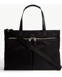 Knomo Mayfair Blenheim Water-resistant 14'' Laptop Tote - Black