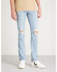 PAIGE - Lennox Skinny Jeans - Lyst
