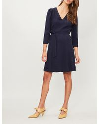 Claudie Pierlot - Raphael Paisley-embroidered Woven Dress - Lyst