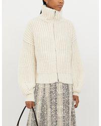 Zadig & Voltaire Aline Zip-up Wool Cardigan - Multicolour