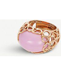 BUCHERER JEWELLERY Lacrima 18ct Rose-gold And Diamond Ring - Pink