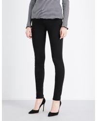 J Brand - Ladies Black Skinny Mid-rise Jeans - Lyst