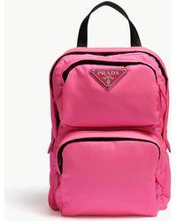 Prada - One-shoulder Backpack - Lyst