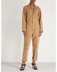 2b560e5951a Yeezy - Season 6 Cotton Jumpsuit - Lyst
