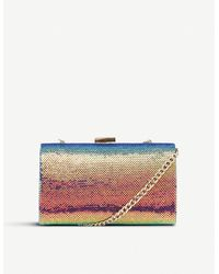 Dune Britneey Sequin Clutch Bag - Multicolour