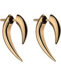 Shaun Leane - Silver And Rose Gold Platetalon Earrings - Lyst
