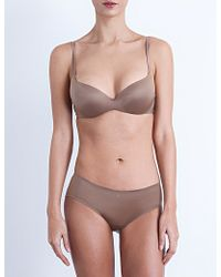 Silent Assembly Smooth Contour Plunge Bra - Multicolor