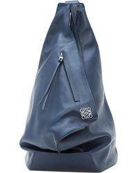 Loewe Anton Leather Backpack - Black