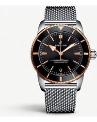 Breitling Ub2010121b1a1 Superocean Heritage Stainless Steel Watch - Metallic
