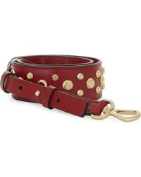 MICHAEL Michael Kors - Studded Leather Guitar Bag Strap - Lyst