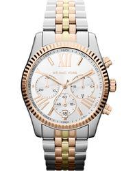 Michael Kors - Mk5735 Bradshaw Two-tone Steel Watch - Lyst