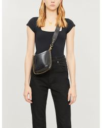 Free People Square Eyes Square-neck Stretch-jersey Body - Black