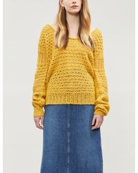 Free People - Crashing Waves Wool-blend Jumper - Lyst