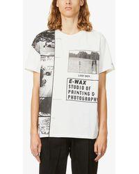 The Soloist Lost Boy Text-print Cotton-jersey T-shirt - Multicolour