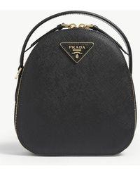 Prada Odette Mini Backpack - Black