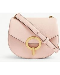 Sandro - Pepita Leather Shoulder Bag - Lyst