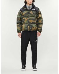 The North Face Nuptse Camouflage-print Shell-down Jacket - Multicolour