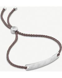 Monica Vinader Havana Mini Friendship Bracelet - Grey