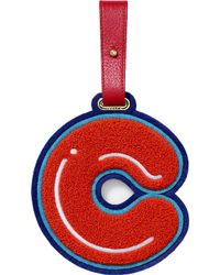 Chaos C luggage Tag - Red