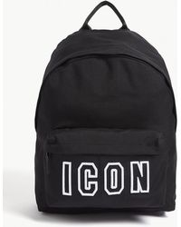 DSquared² - Icon Frame Nylon Backpack - Lyst