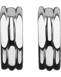 Links of London   20/20 Sterling Silver Hoop Earrings   Lyst