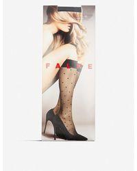 Falke Polka Dot Knee-high Knitted Socks - Multicolour