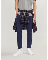 The Kooples - Zipped-cuff Woven jogging Bottoms - Lyst